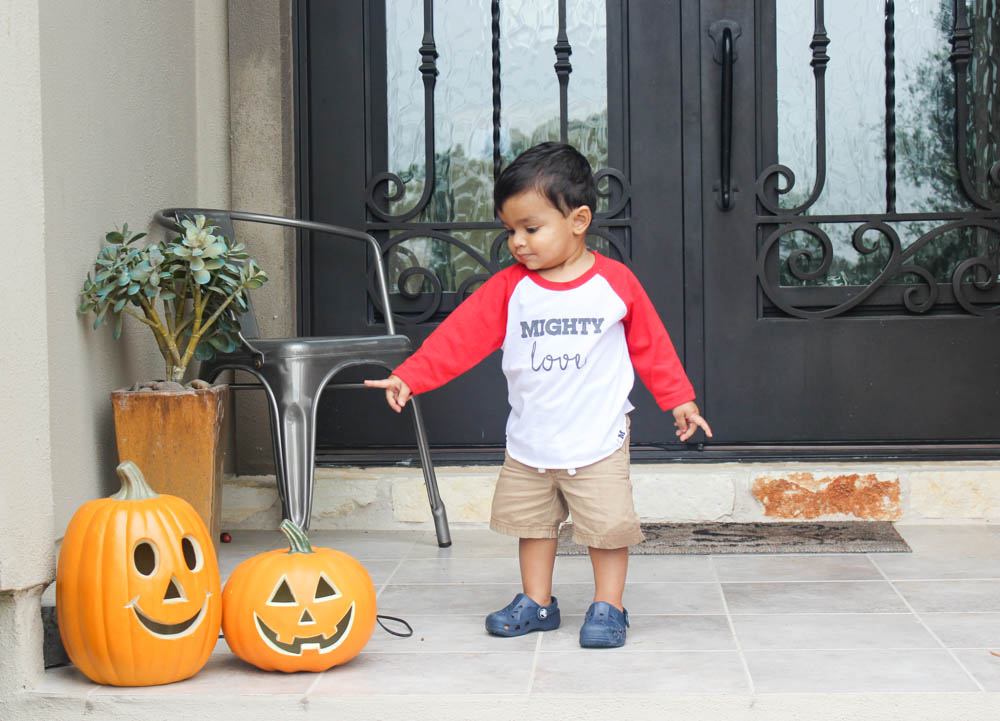 Rishi with pumpkins wearing Mighty Love || www.alfasengupta.com