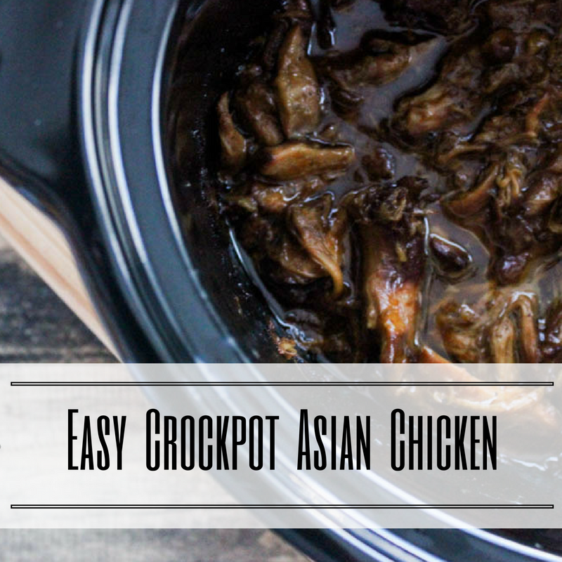 Easy Crockpot Asian Chicken