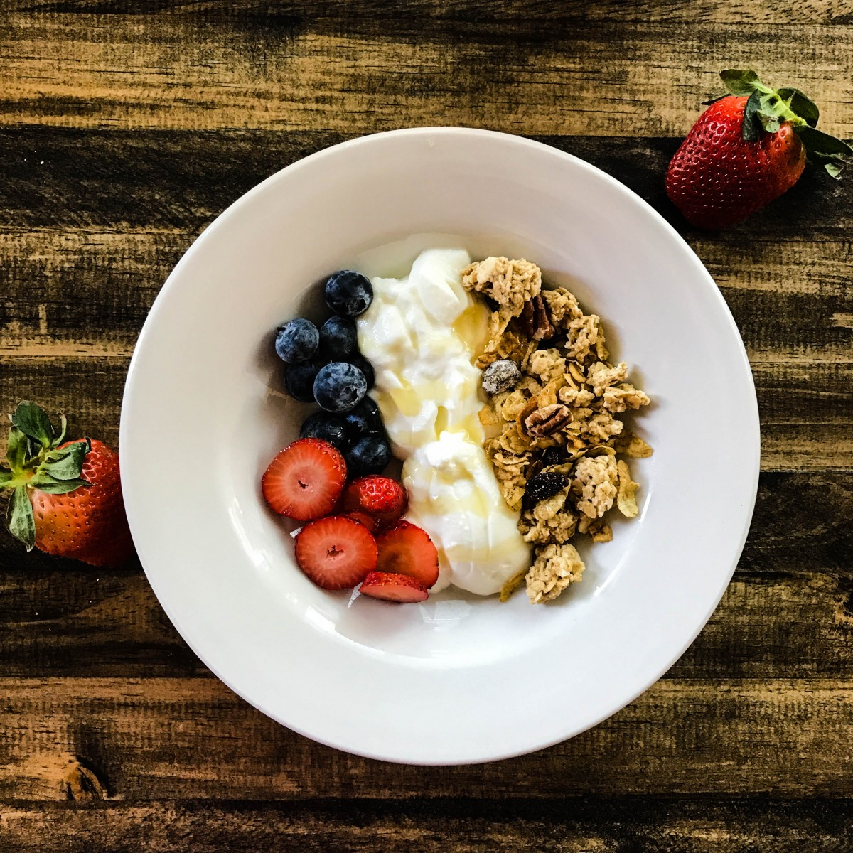 Cereal and Yogurt Bowl