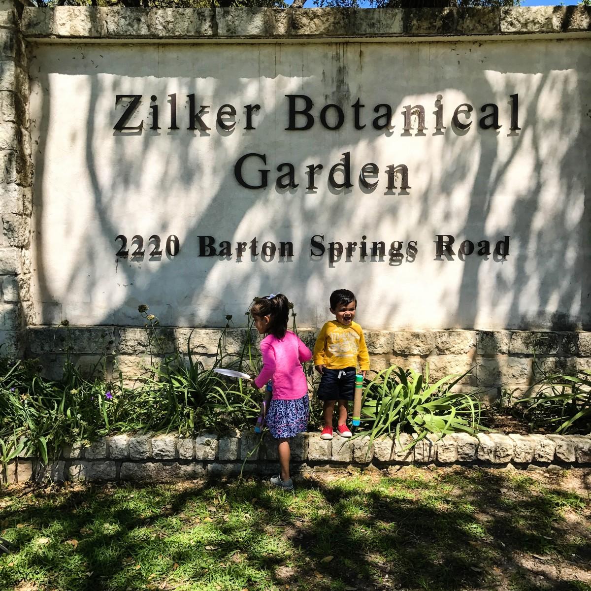 A Saturday at Zilker Garden Festival!