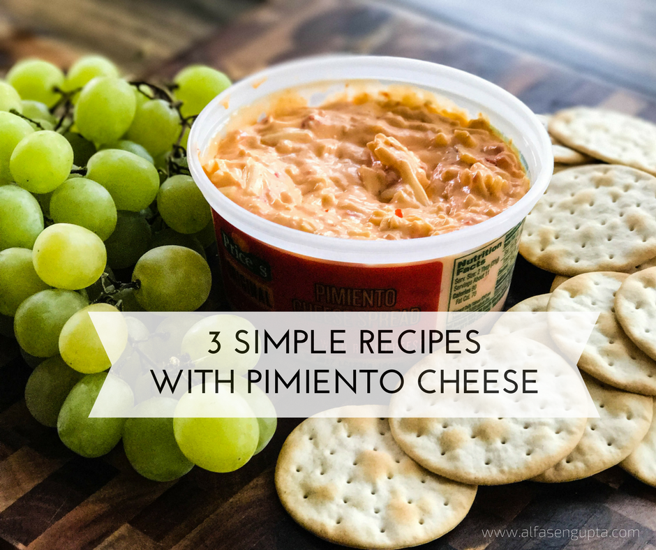 3 Simple Recipes with Pimiento Cheese!!