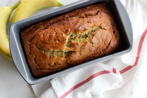 Easy  Cinnamon  Banana  Bread
