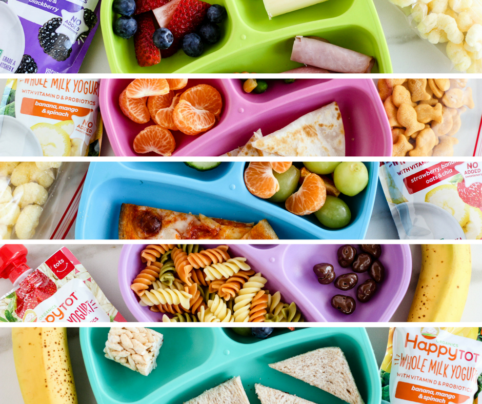 5 Real & Simple Toddler Lunches for Preschool
