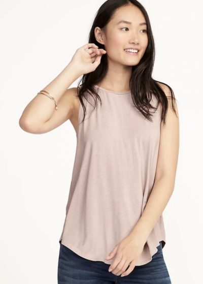 Luxe High Neck Swing Tank