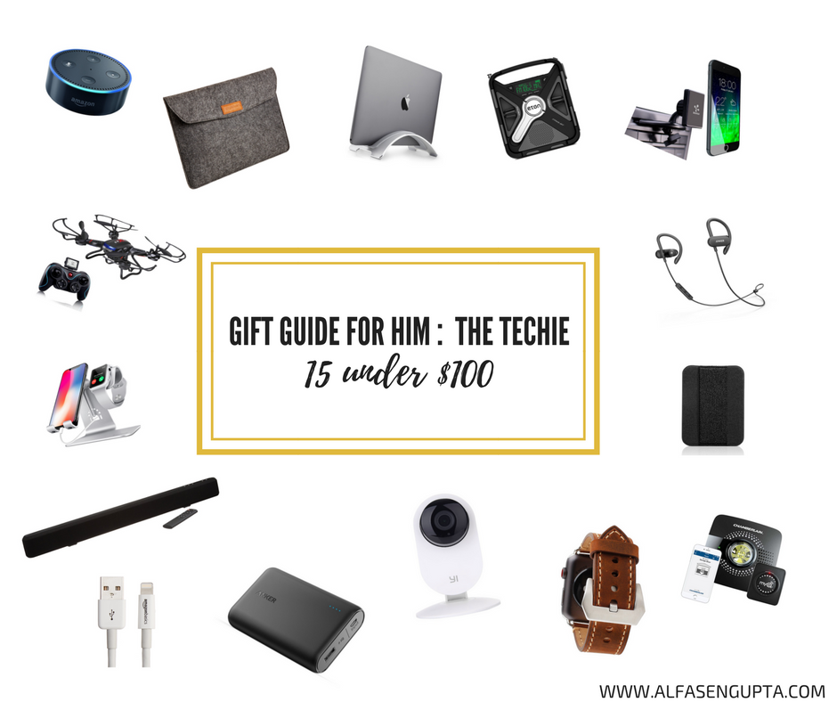 Valentine's Gift Guide for Him : The Techie! (15 under $100)