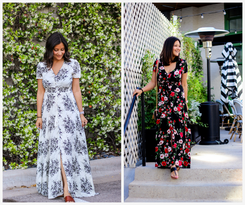 The Ultimate Floral Maxi on Amazon for $30!