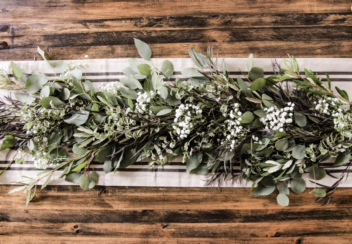 Diy Fresh Greenery Garland Alfa Sengupta