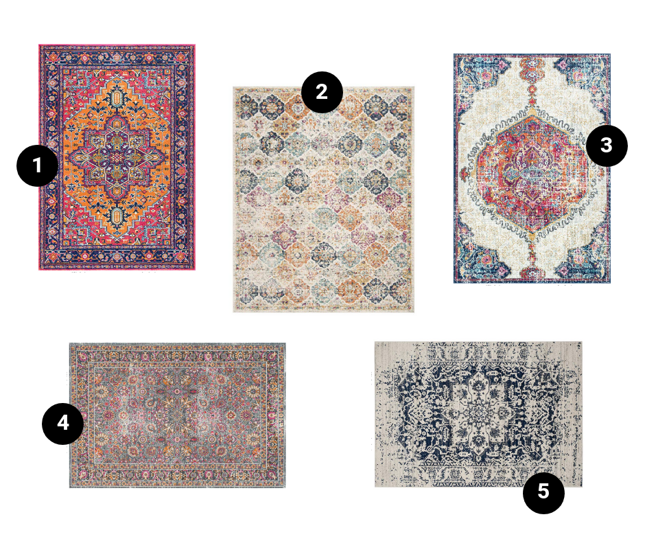 The Best Distressed Oriental Rugs Under 200 On Amazon