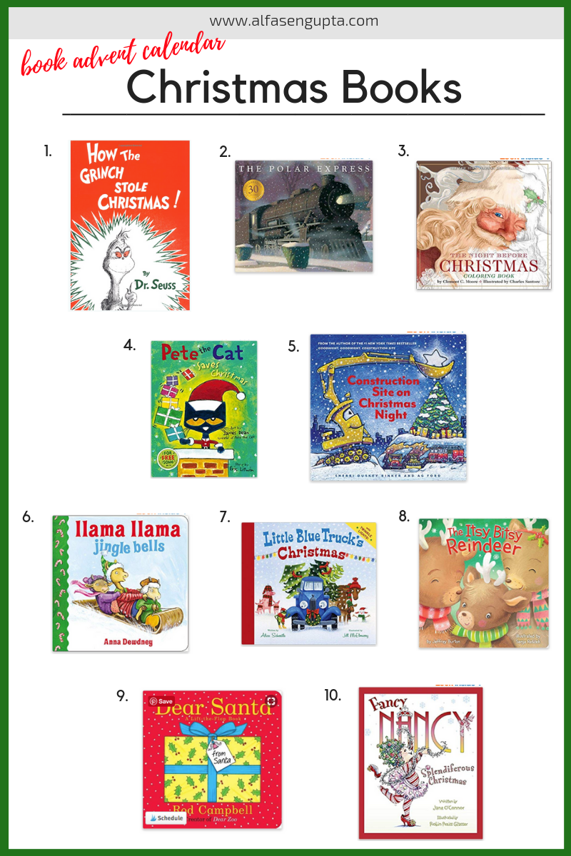 Book Advent Calendar, countdown to christmas, Christmas book. christmas book gift guide, toddler christmas books, christmas traditions