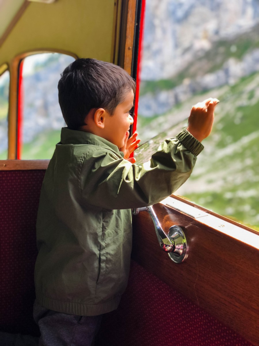 mount pilatus with kids, switzerland with kids, mount pilatus itinerary, switzerland itinerary, switzerland itinerary with kids, love alfa travels, love alfa switzerland, love alfa pilatus, cogwheel train, pilatus kulm