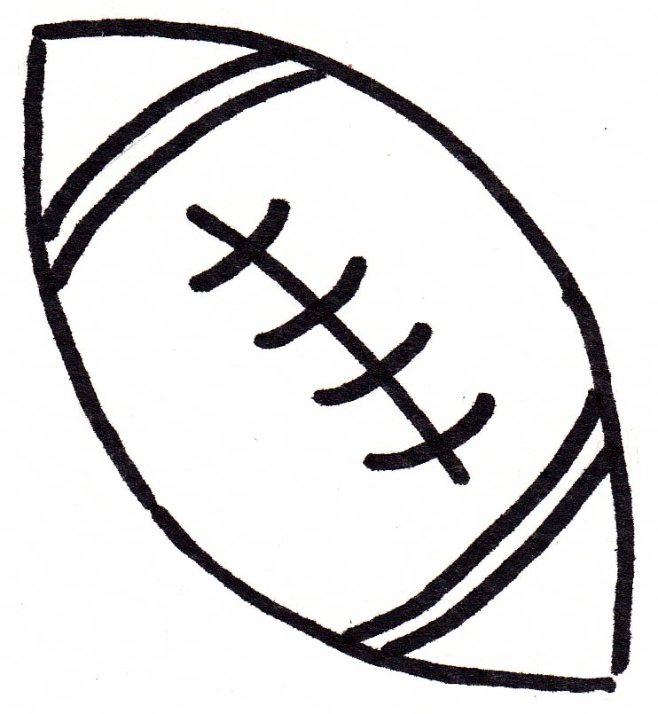Doodle Series A Football Coloring Pages Alfa Sengupta