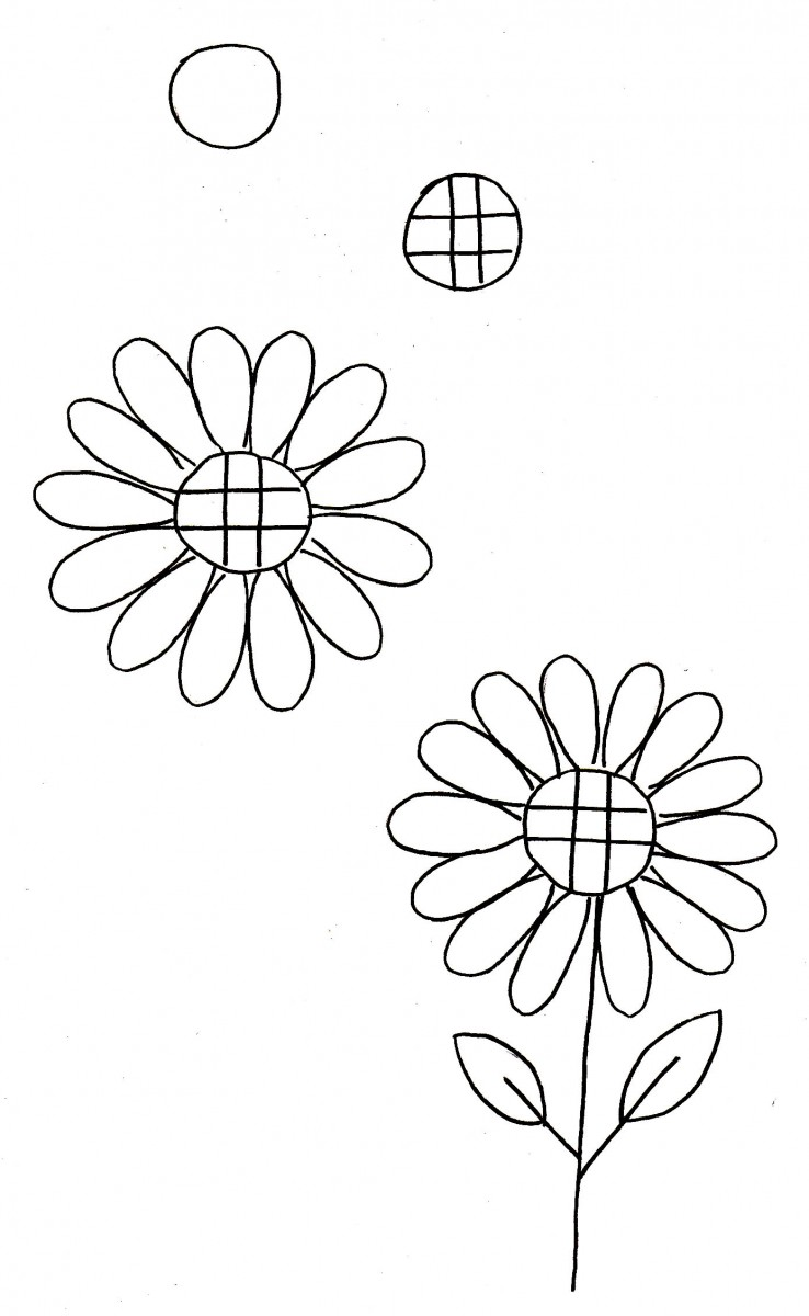 sunflower doodle, how to draw a sunflower, love alfa doodles, alfa the artist, thanksgiving doodle, how to do a flower, how to draw a sunflower, flower doodles, easy flower drawing tutorial