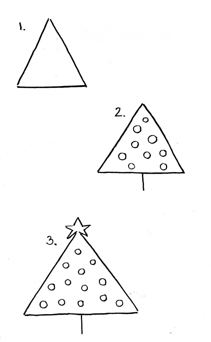 love alfa doodles, alfa the artist, christmas tree doodles, christmas tree drawing, how to draw a christmas tree, easy christmas tree doodle, christmas bullet journal ideas