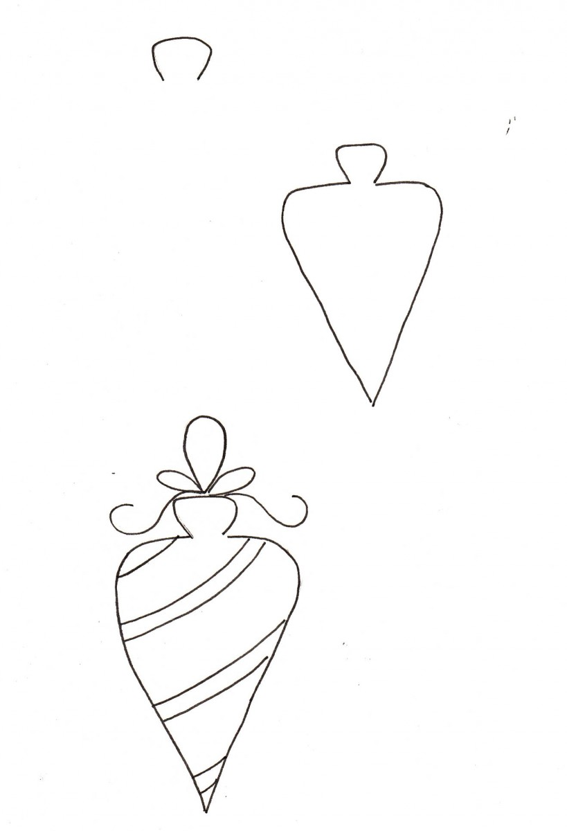 how to draw an ornament, how to doodle an ornament, ornament drawing tutorial, ornament doodle, christmas bullet journal, christmas doodles, doodle ideas, love alfa doodles, alfa the artist