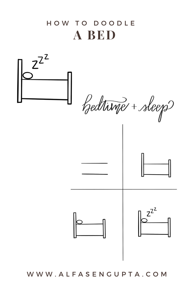 How to Doodle a Bed!
